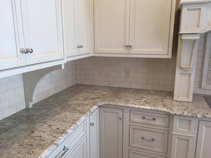 News down east fabrication Supreme white granite pictures